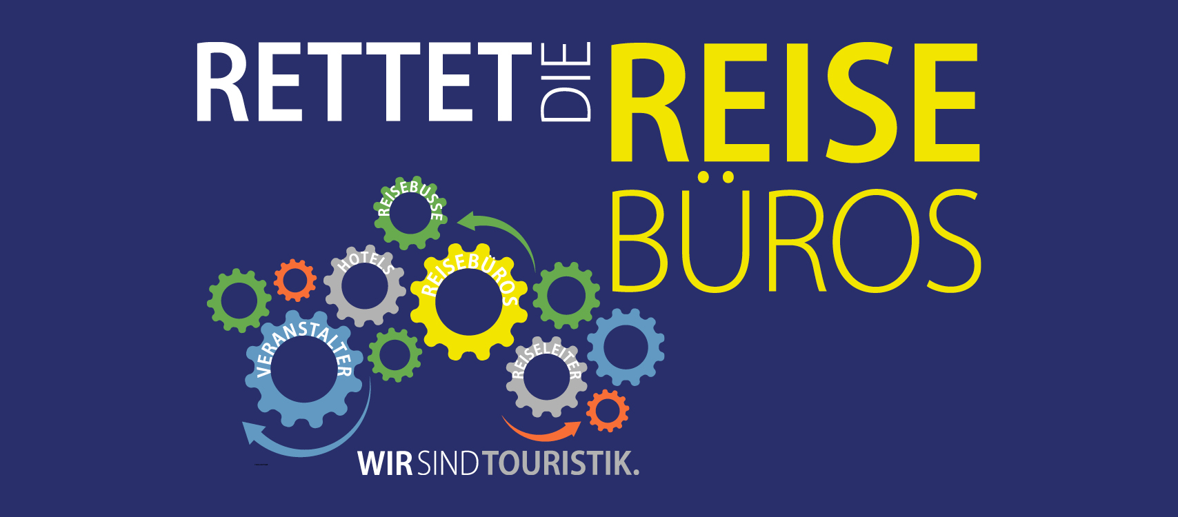 Rettet die Reisebüros Tourismus Turn