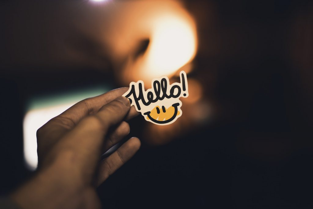 say hello kontakt