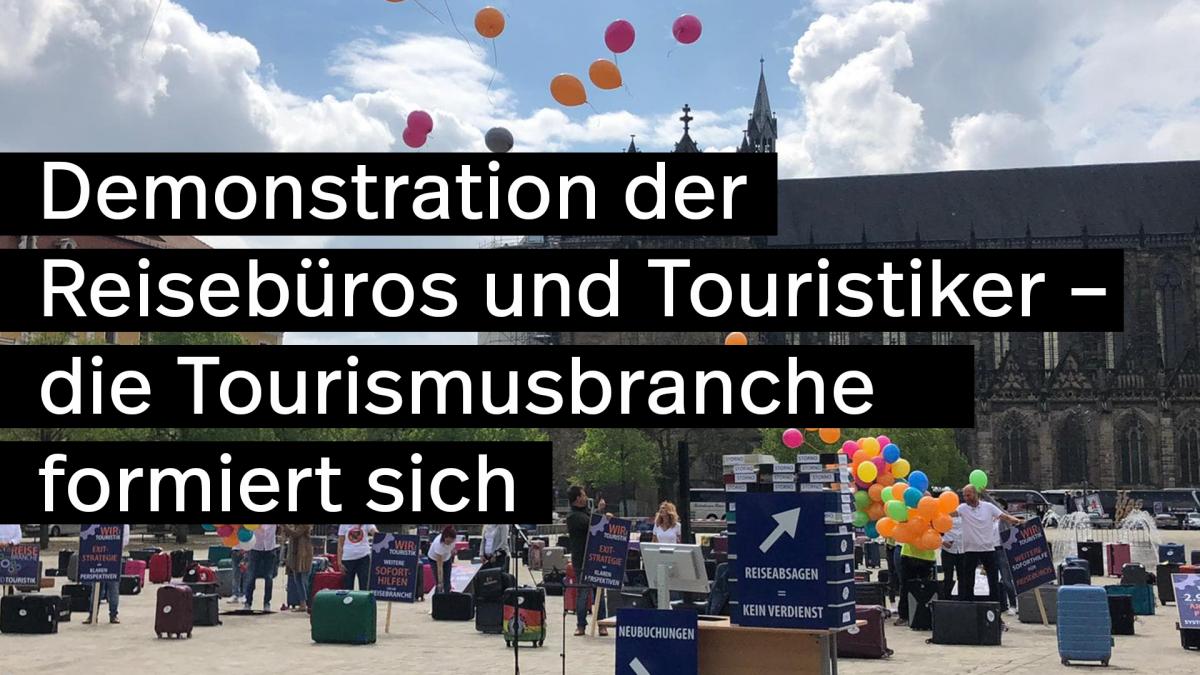 Demonstration-der-Reisebüros-und-Touristikier-Tourismus-Turn