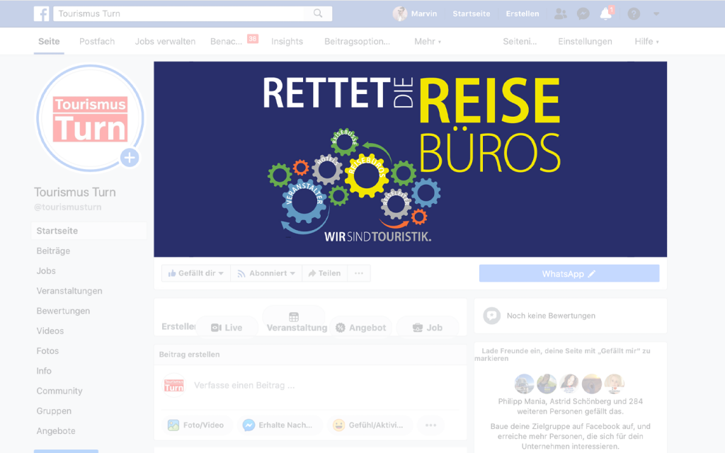 Facebook-Titelbild-Vorschau-Thumbnail rettet die reisebüros
